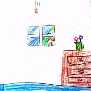 まほうの やりかた:カカララカッ葉を いちばん 高いところから ひくいところまで おとす。